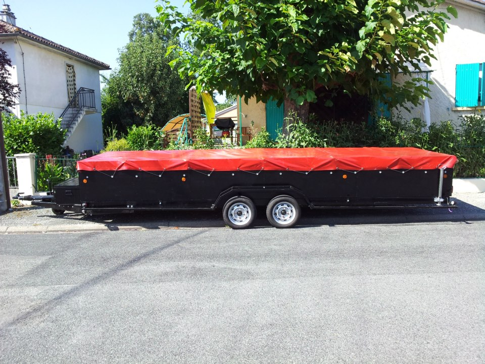 Finished Project : Custom Trailer