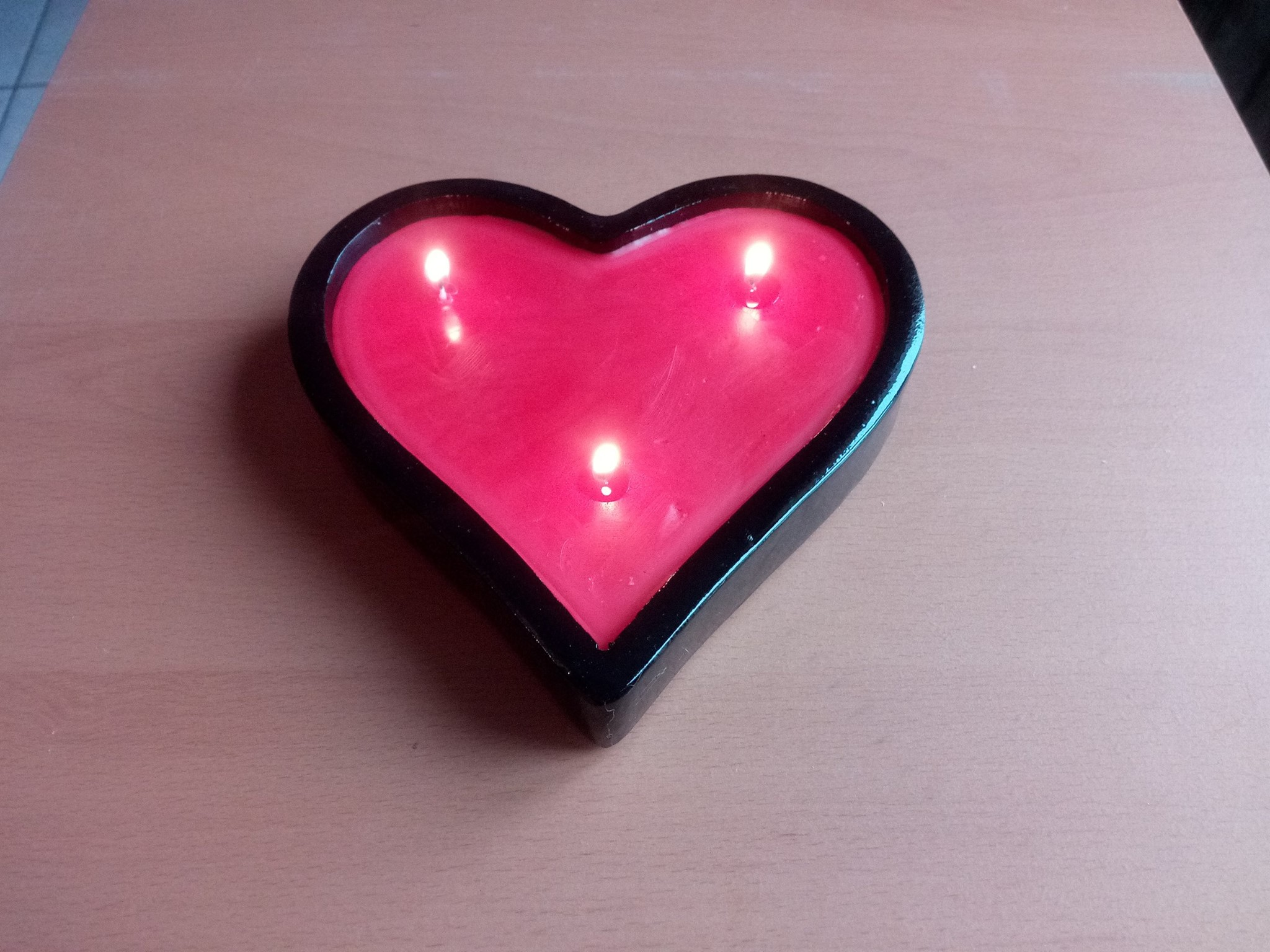 Projet terminé: Candlestick Heart