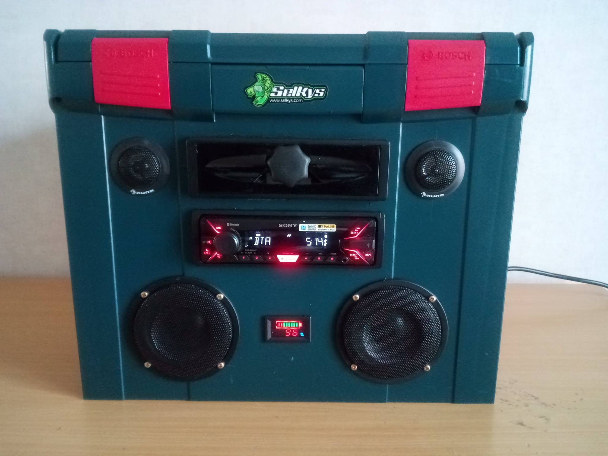 Finished Project BoomboxX